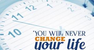 Aprenda inglês com citações #10: You will never change your life... [John C. Maxwell]