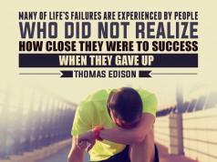 Aprenda inglês com citações #19: Many of life's failures are...