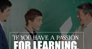 Aprenda inglês com citações #27: If you have a passion for learning...