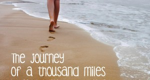 Aprenda inglês com citações #24: The journey of a thousand miles...