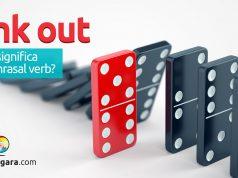 Fink out | O que significa este phrasal verb?