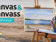 Qual a diferença entre Canvas e Canvass?