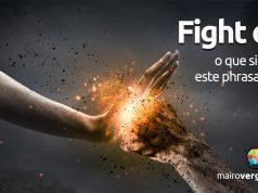 Fight Off | O que significa este phrasal verb?