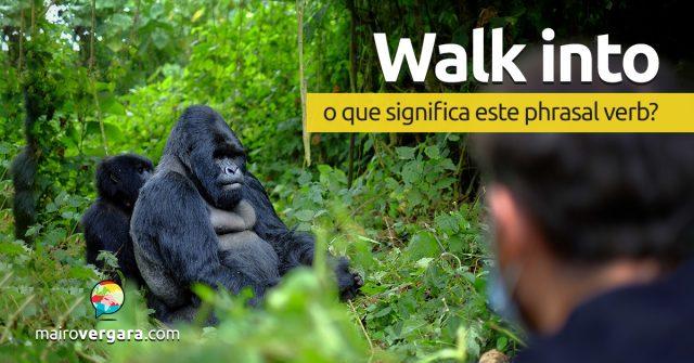 Walk Into | O que significa este phrasal verb?