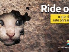 Ride Out   O que significa este phrasal verb?