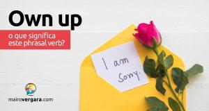 Own Up | O que significa este phrasal verb?