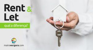 Qual é a diferença entre Rent e Let?