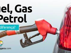 Qual a diferença entre Fuel, Gasoline e Petrol?