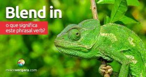 Blend In | O que significa este phrasal verb?