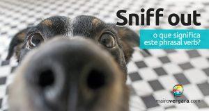 Sniff Out | O que significa este phrasal verb?