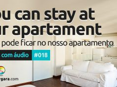 Textos Com Áudio #018 | You can stay at our apartment